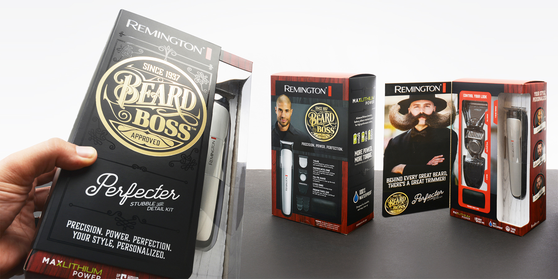Remington – Beard Boss Packaging