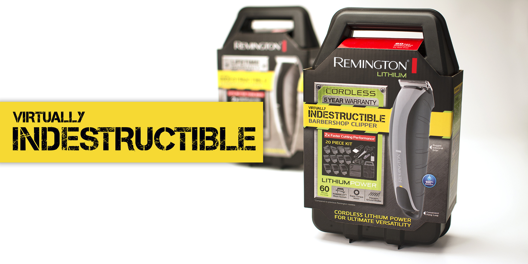 Remington– Indestructible