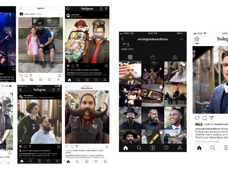 Beard Boss Social Media