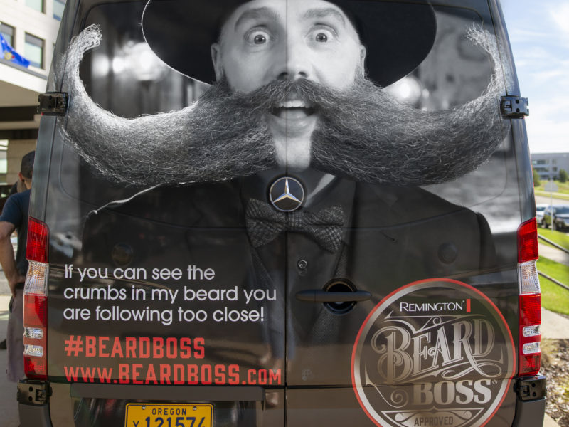 Beard Boss Van